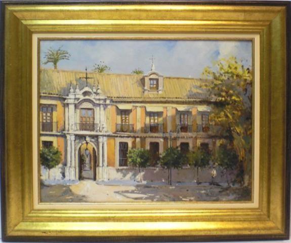 Pedro Cabecera: Palacio Arzobispal