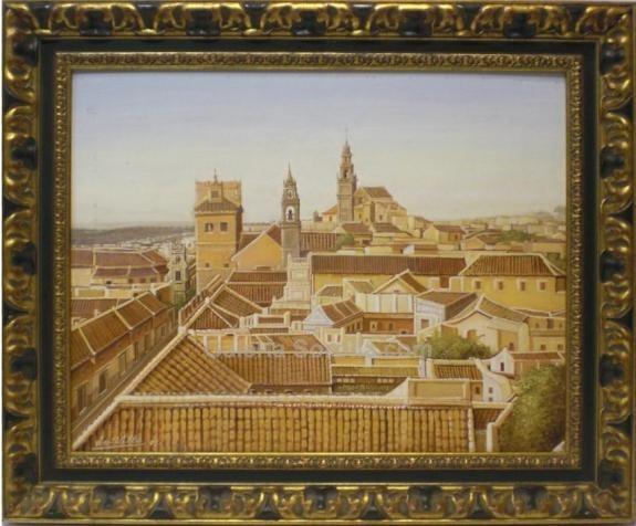 Servilla: Vista de Carmona