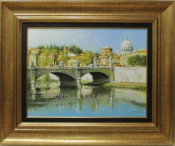Sánchez Ramírez: Puente de Sant Angelo (Vaticano)