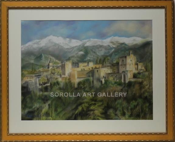Lourdes Plaza: Vista de Granada