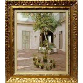 José Ortega: Courtyard in Seville