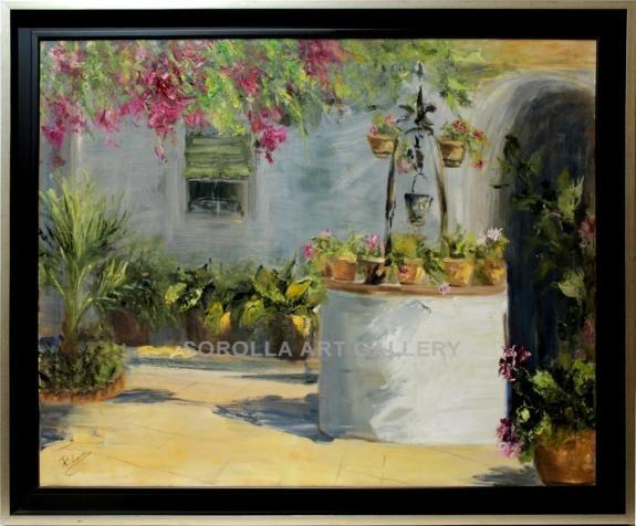 Rosa maria el pozo venta de cuadros en la galer a de arte - Cuadros faciles de copiar ...