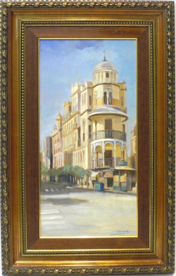 José Luis Gordillo: Vista de Sevilla