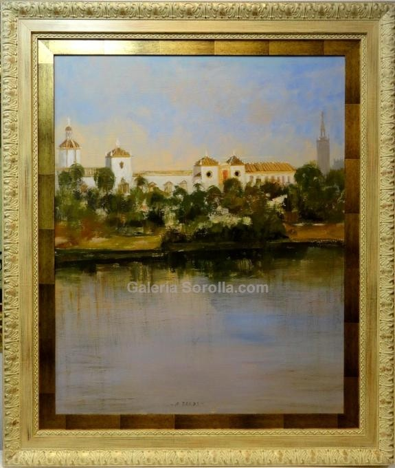 Miguel Ramos: Vista de Sevilla