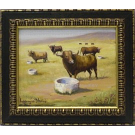 Baldomero Muñoz: Bulls in the countryside