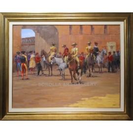 Enrique Pastor: Horse yard