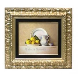 Porcelana con limones