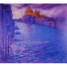 Andrés Rueda: Daybreak in Venice