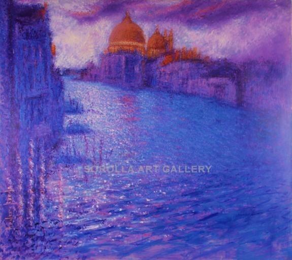 Andrés Rueda: Amanecer en Venecia