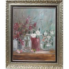 Flores y jarrones