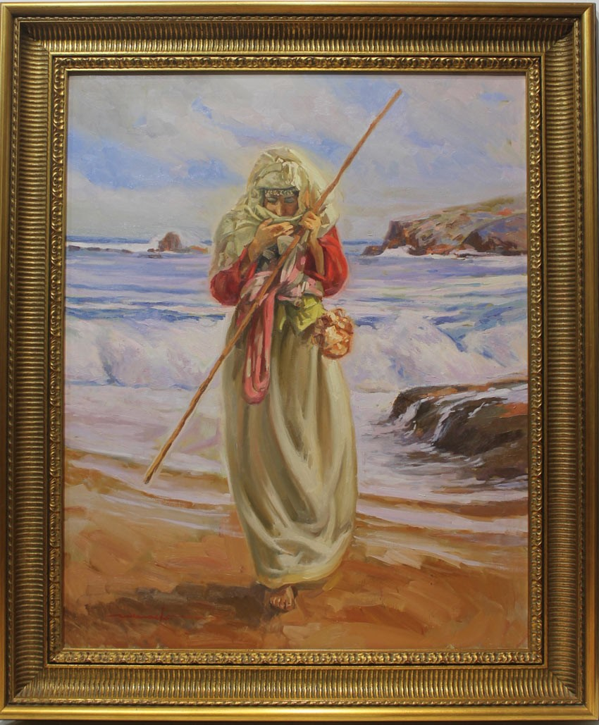 José María Menacho: Mora en la playa