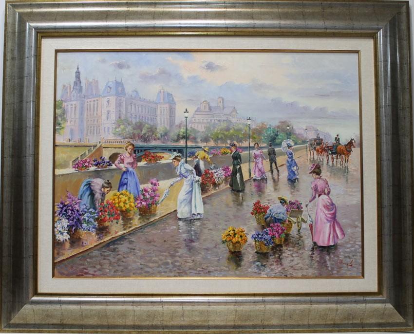 Carbonell parisino venta de cuadros en la galer a de for Galeria de arte sorolla