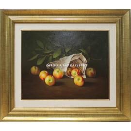 Bodegon manzanas