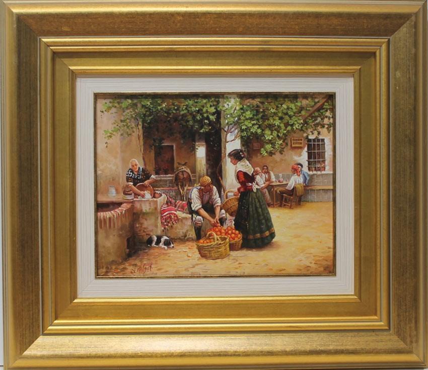 L pez galindo valencianos venta de cuadros en la galer a for Galeria de arte sorolla