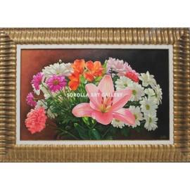 Bodegones de flores: Ramo de flores