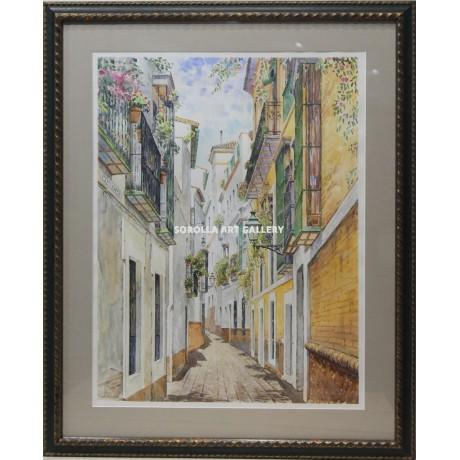 Emilio zurr n calle pimienta venta de cuadros en la for Galeria de arte sorolla