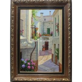Patios y jardines: Calle alpujarreña