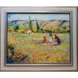 Antonio de Cela: Impressionist Landscape