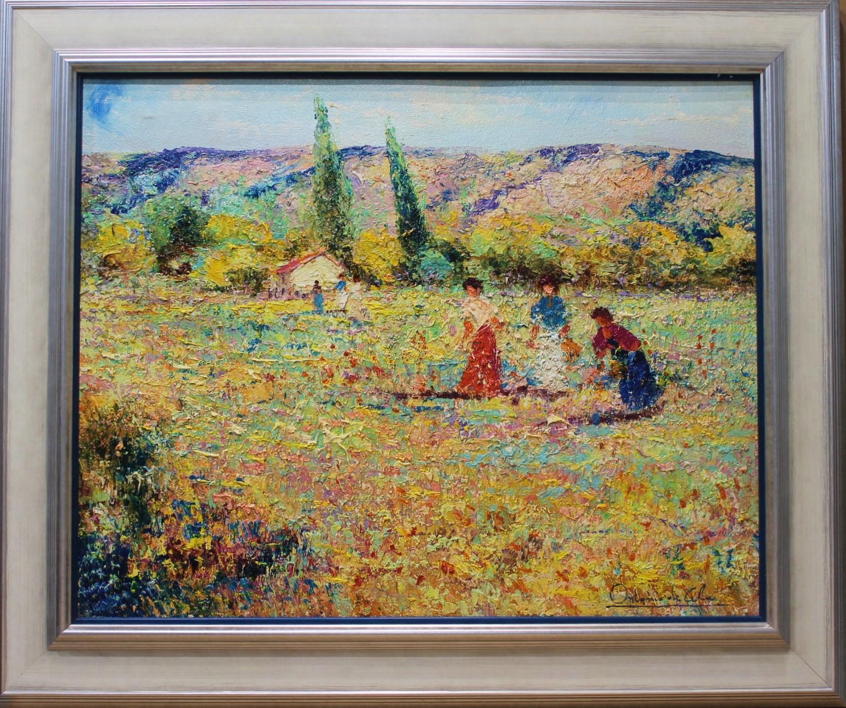 Antonio de Cela: Paisaje impresionista