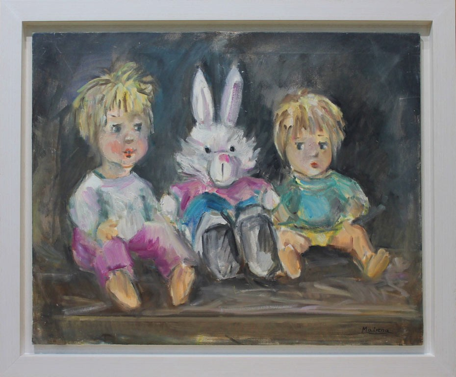 Maria Mairena: Niños y conejo