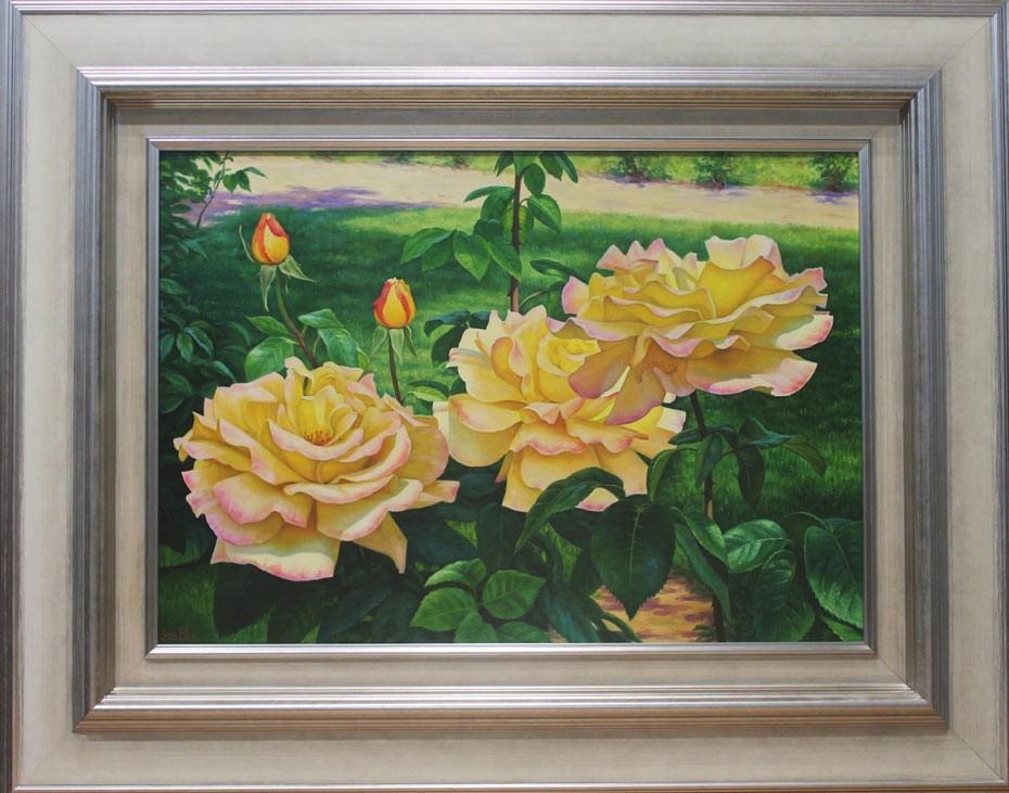 Jesús Fernández: Rosas amarillas