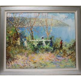 Landscapes: Impressionist landscape