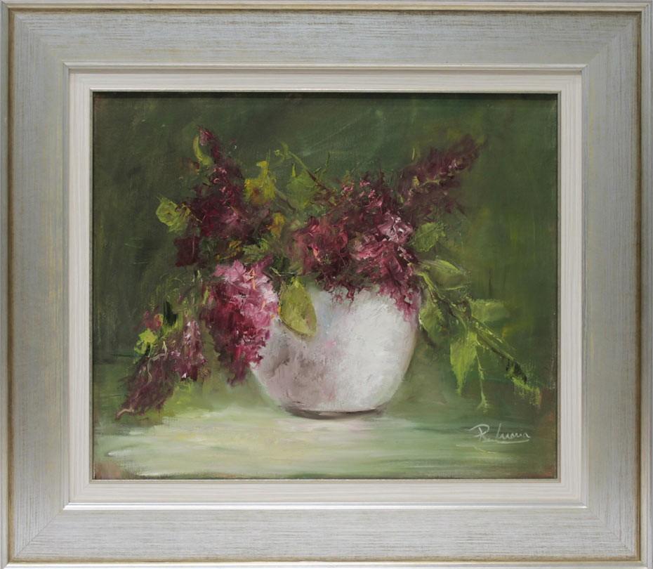 Rosa María: Jarron con flores