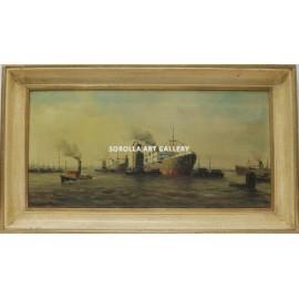Escuela Holandesa: Harbor
