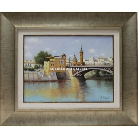 Ark ngel puente de triana venta de cuadros en la galer a for Galeria de arte sorolla