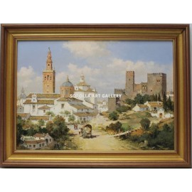 Manuel Fernández: View of Carmona