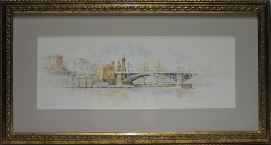 Emilio Zurrón: Vista de Sevilla