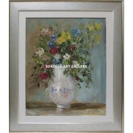 Rosa Maria: Jarrón con flores