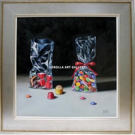 Still life candies