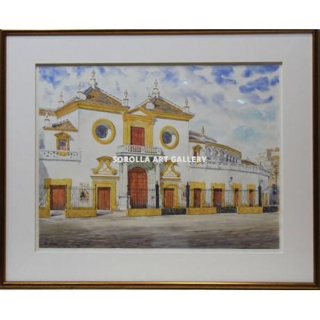 Emilio zurr n maestranza venta de cuadros en la galer a for Galeria de arte sorolla