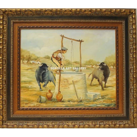 Juan campos en el pozo venta de cuadros en la galer a de for Galeria de arte sorolla