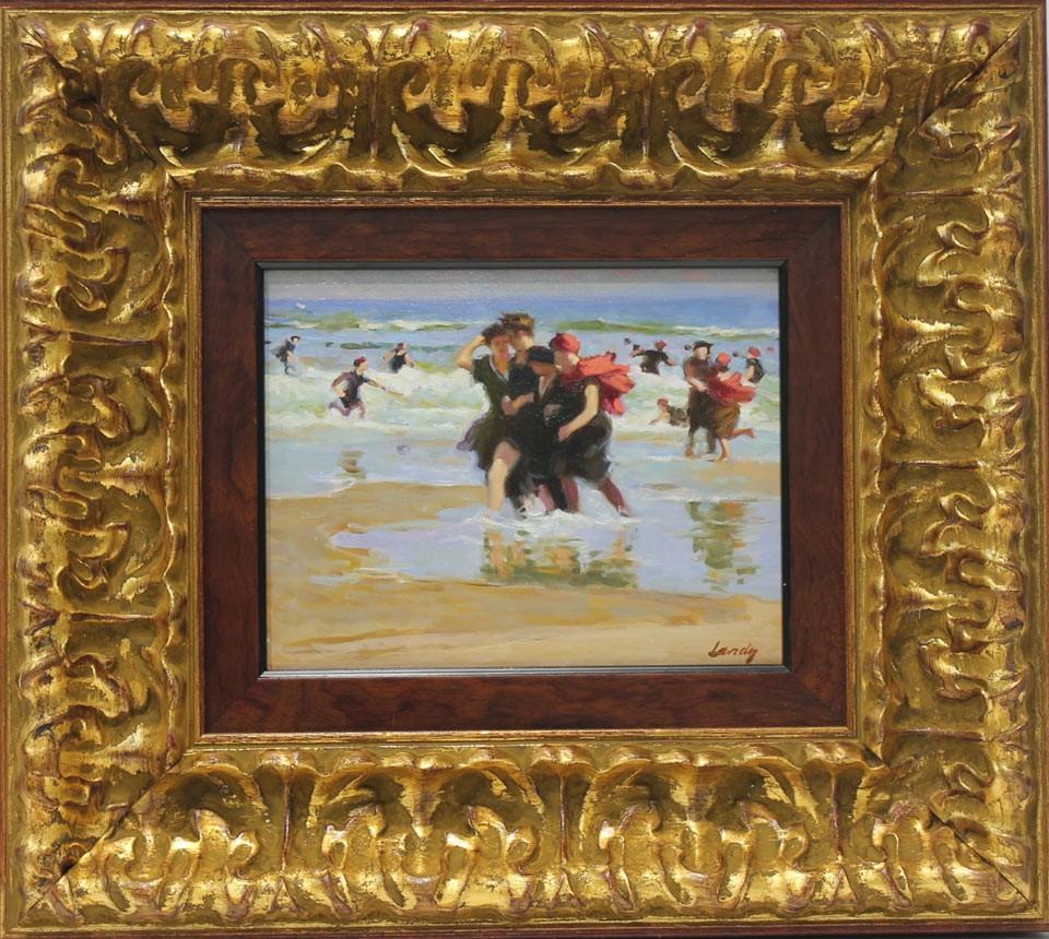 Landy: Mujeres En La Playa