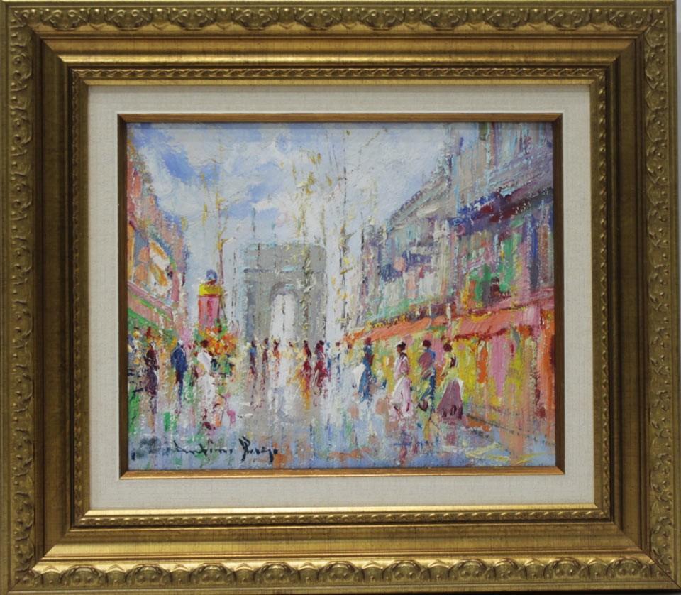 Escuela sorolla parisino venta de cuadros en la galer a for Galeria de arte sorolla