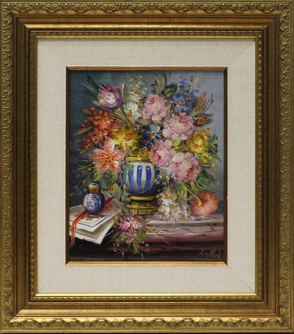 Michel bodeg n flores venta de cuadros en la galer a de for Galeria de arte sorolla