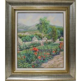 Vista de jardines