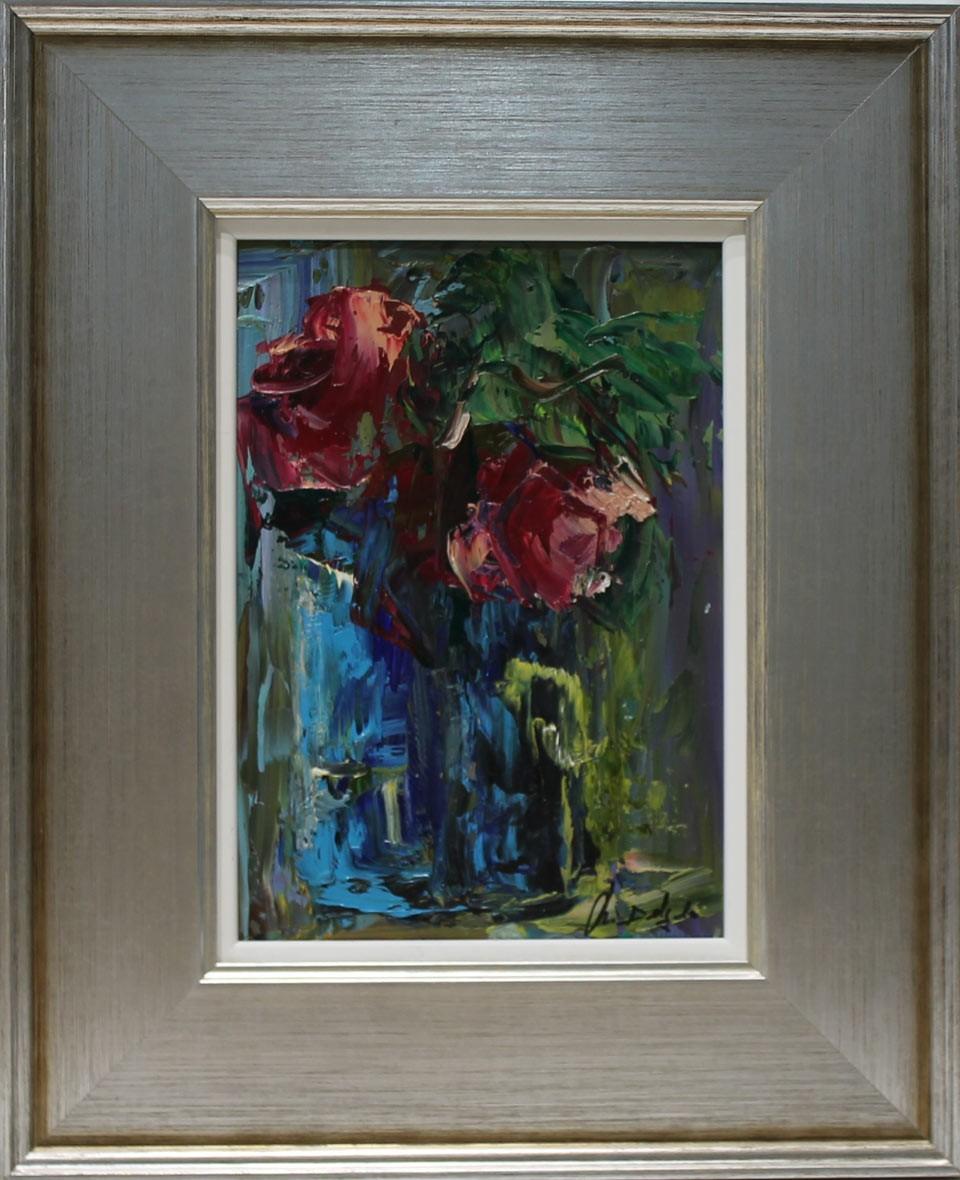 Ana Delgado: Vaso azul