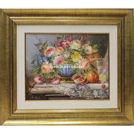 Michel bodeg n de flores venta de cuadros en la galer a for Galeria de arte sorolla