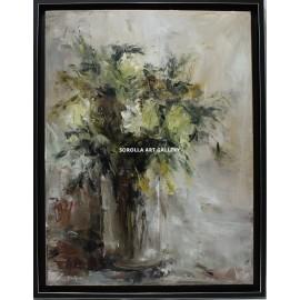 Ana Delgado: Flowers vase