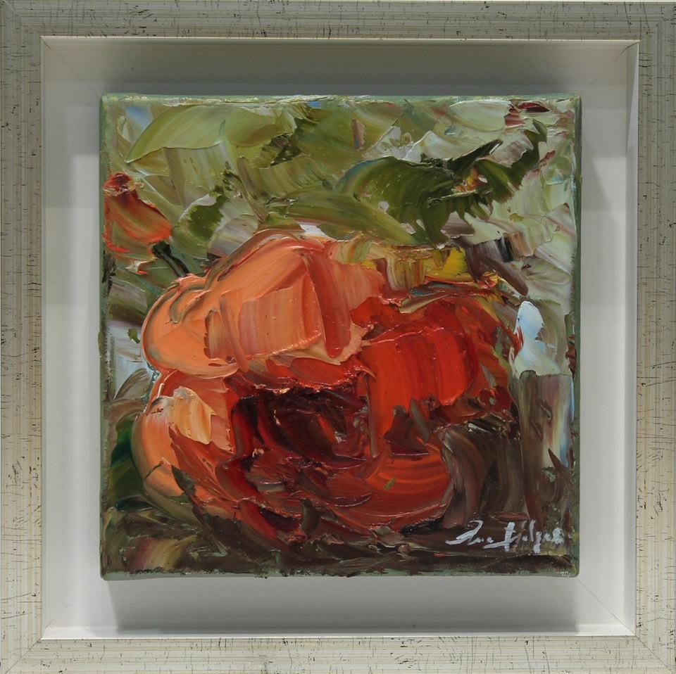Ana Delgado: Rosa roja