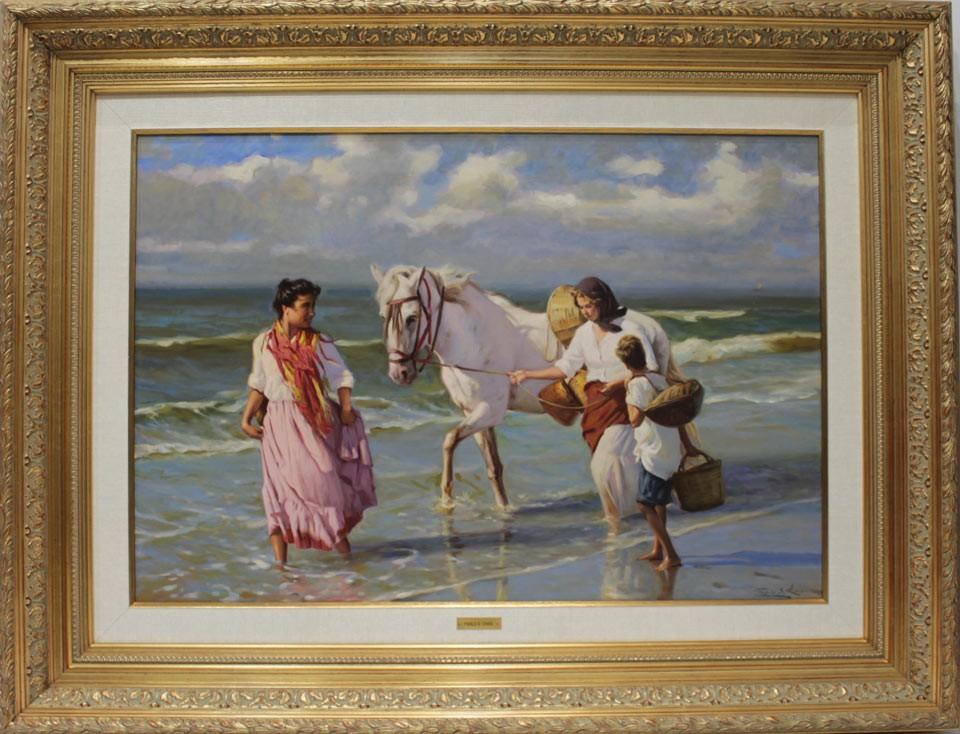Pablo Segarra Chías: Mujer con caballo