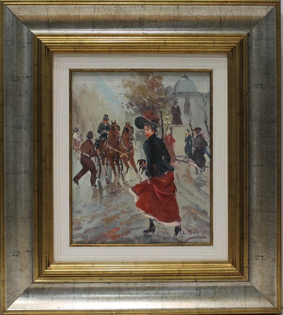Soler parisinos venta de cuadros en la galer a de arte for Galeria de arte sorolla