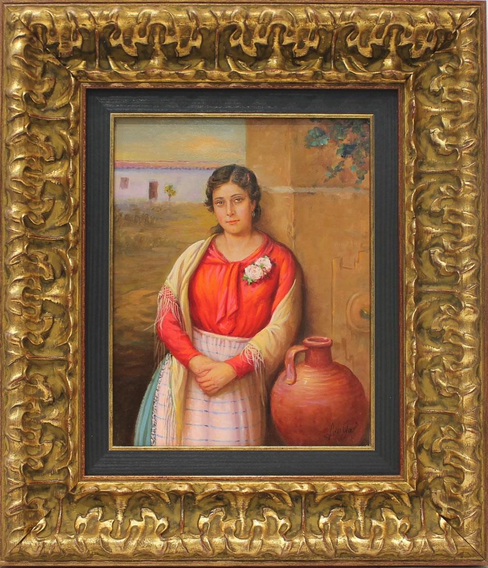 López Galindo: Mujer con cántaro
