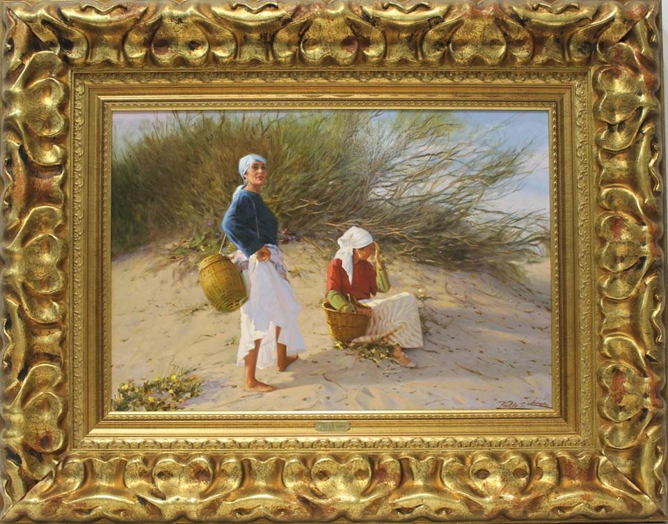 Pablo Segarra Chías: Pescadoras en dunas