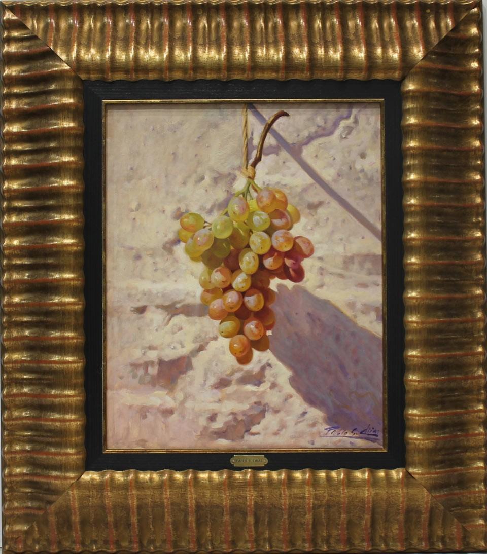 Pablo Segarra Chías: Bodegon uvas