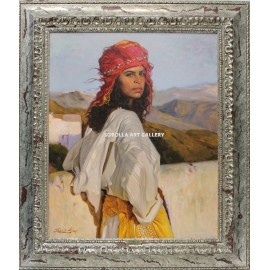 Mujer en Sierra Nevada