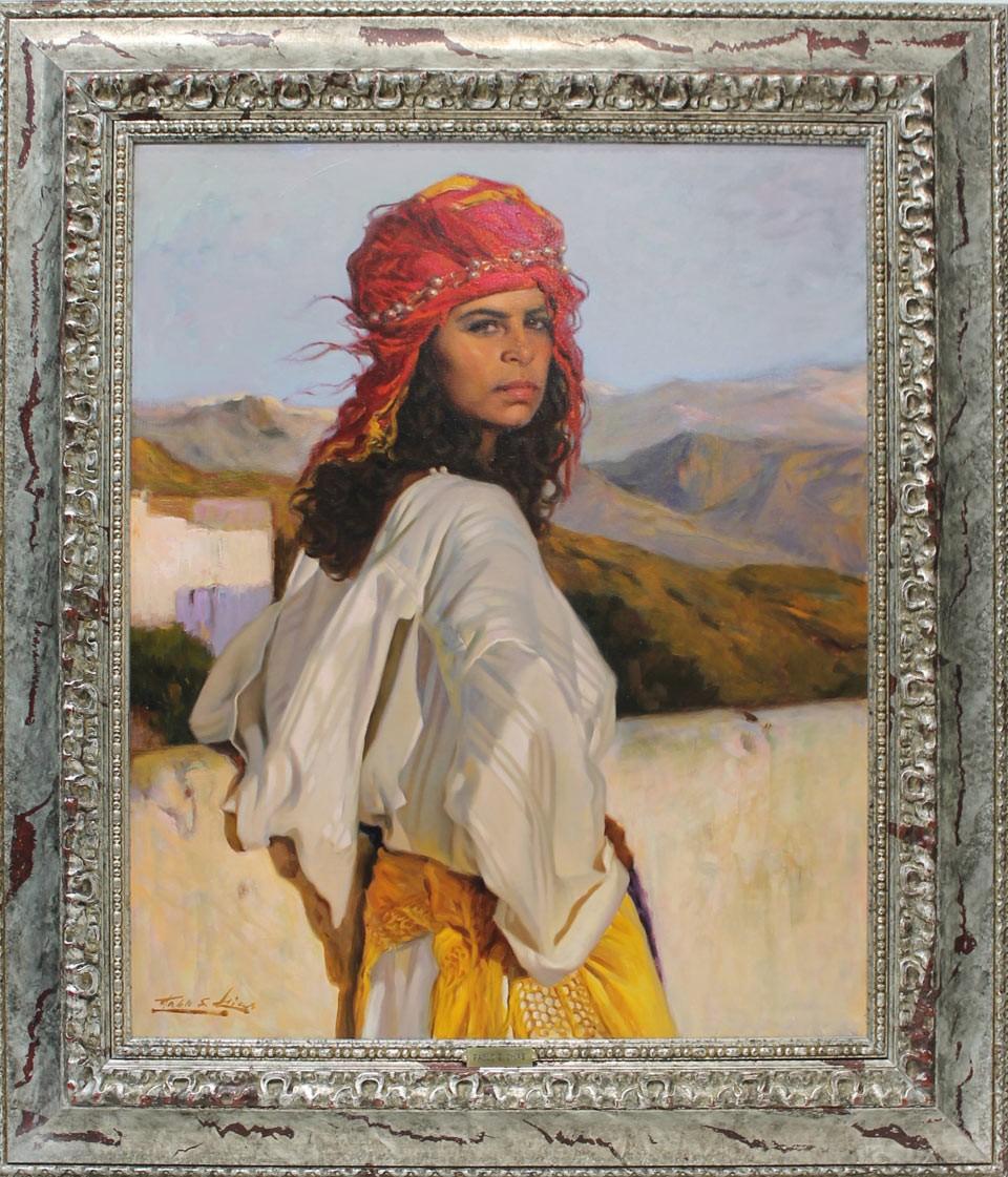 Pablo Segarra Chías: Mujer en Sierra Nevada